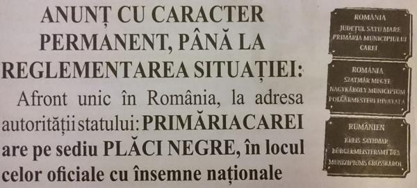 Viață de român la Carei