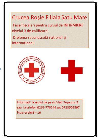 Cursuri pentru infirmiere. Condiții înscriere