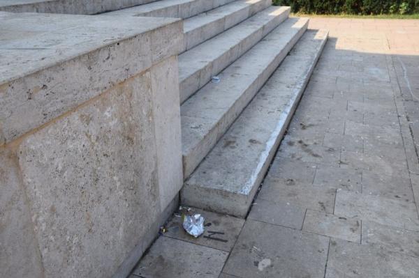 Vandalizarea  Monumentul Ostașului Român la 75 de ani de la eliberarea Careiului