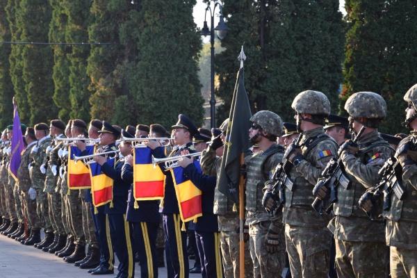 Imnul României a răsunat de Ziua Armatei la Carei