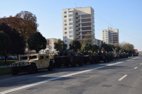 Armata Română a sosit la Carei pentru repetiții