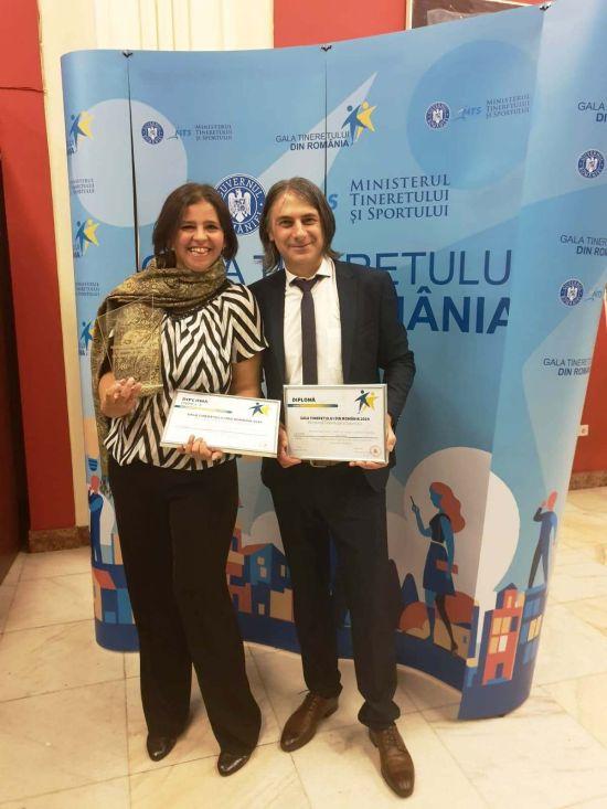 ASOCIAȚIA CUTEZĂTORII MUNȚILOR A CÂȘTIGAT PREMIUL JUNIOR ONG LA  GALA TINERETULUI DIN ROMÂNIA