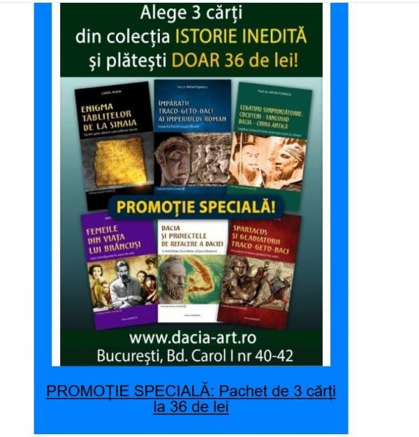 Promoție atractivă din colecția Istorie Inedită