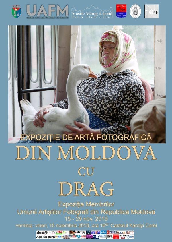 Membrii Uniunii Artiștilor Fotografi din Republica Moldova expun la Castelul din Carei