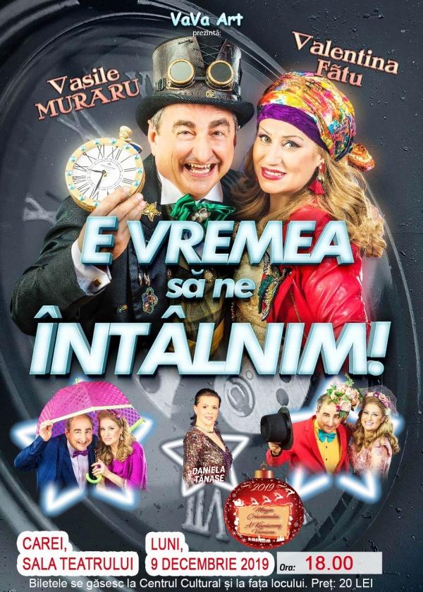 Teatrul de revistă Constantin Tănase ajunge și la Carei