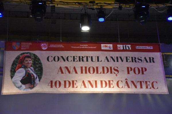 Ana Holdiș Pop – 40 de ani de cântec