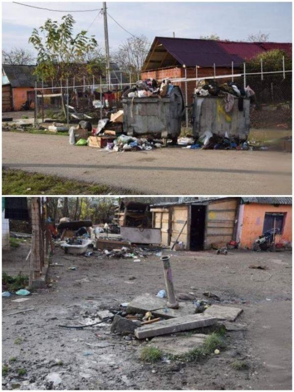 Fără apă și cu gunoiul neridicat în cartierul Dr.Marinescu din Carei