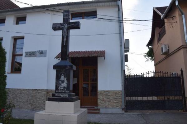 Lucrări la Biserica Sf.Anton din Carei