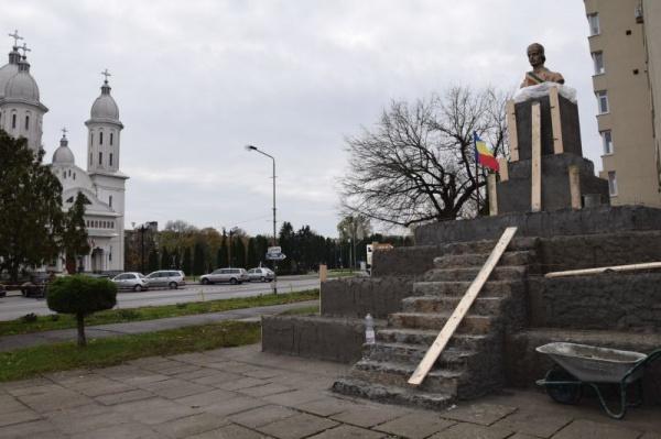 Lucrări susținute la ansamblul monumental Avram Iancu din Carei