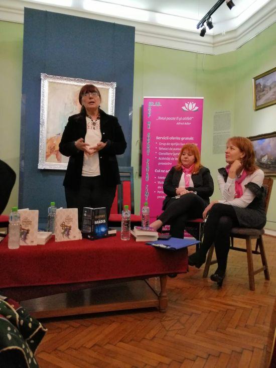 Violența împotriva femeilor. Dezbateri și lansări de carte