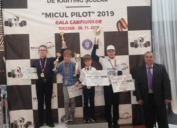 Karting. Elevii lui Ioan Mille aduc premii de la Suceava