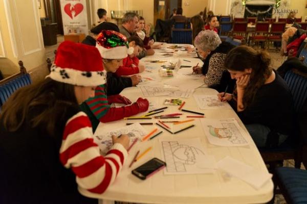 Atelierul lui Moș Crăciun organizat la Castelul din Carei