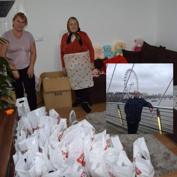 Nicolae Rusu oferă și în acest an cadouri pentru copii nevoiași