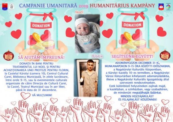 Campanie umanitară la Carei