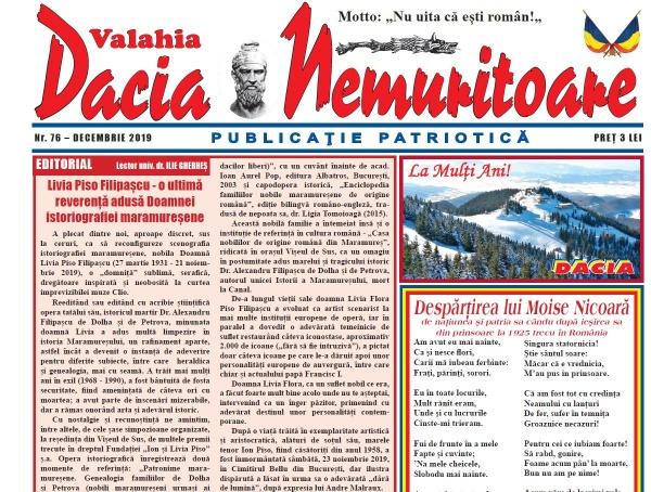 Dacia Nemuritoare la numărul 76