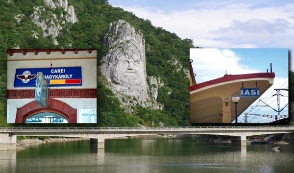 Fără legături feroviare directe între Carei și Moldova sau Oltenia sau Dobrogea