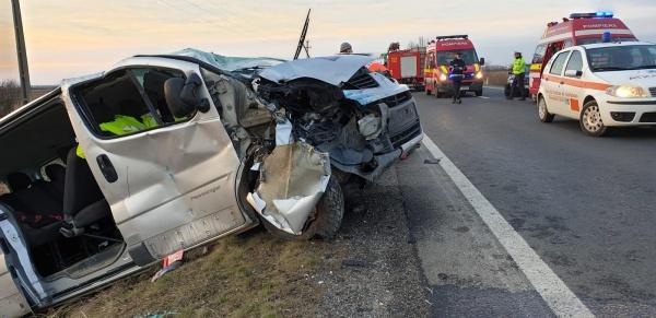 Accident rutier cu 8 victime. A fost activat Planul Roșu de Intervenție