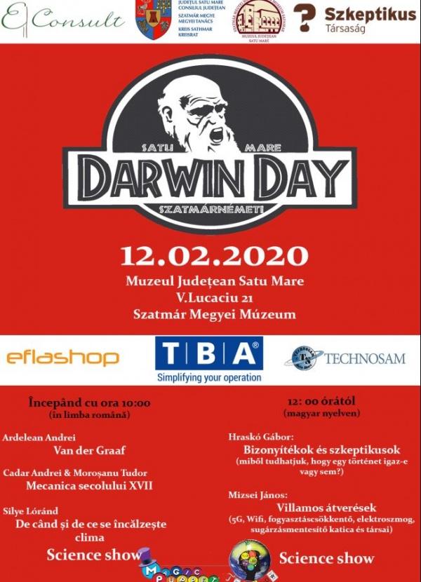Invitați din Ungaria la Ziua lui Darwin de la  Muzeul Judeţean Satu Mare