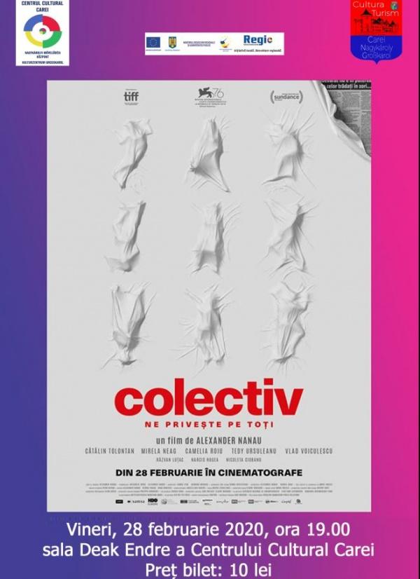 Filmul Colectiv ajunge  la Carei