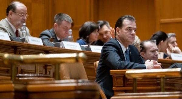 A picat Guvernul Orban. Moțiunea de cenzură a trecut cu 261 de voturi favorabile