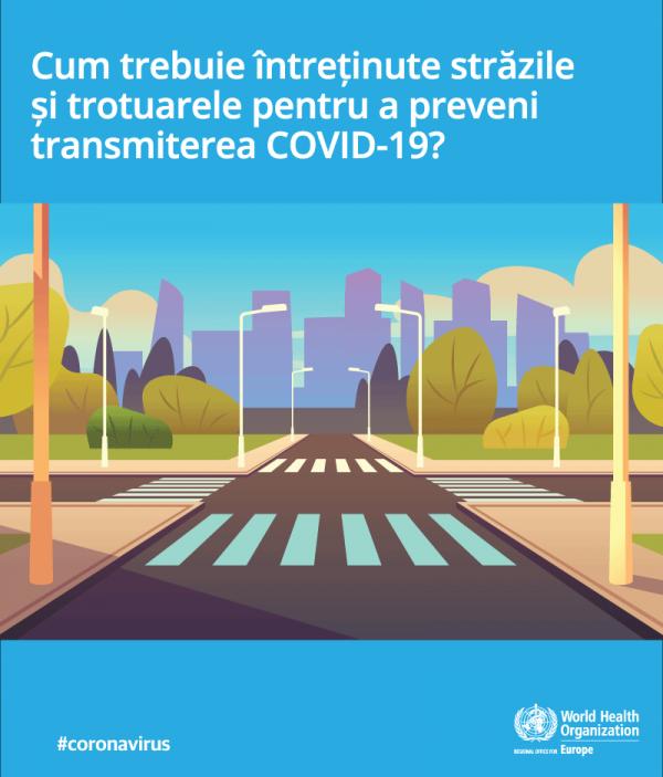 Recomandări pentru a preveni transmiterea COVID-19