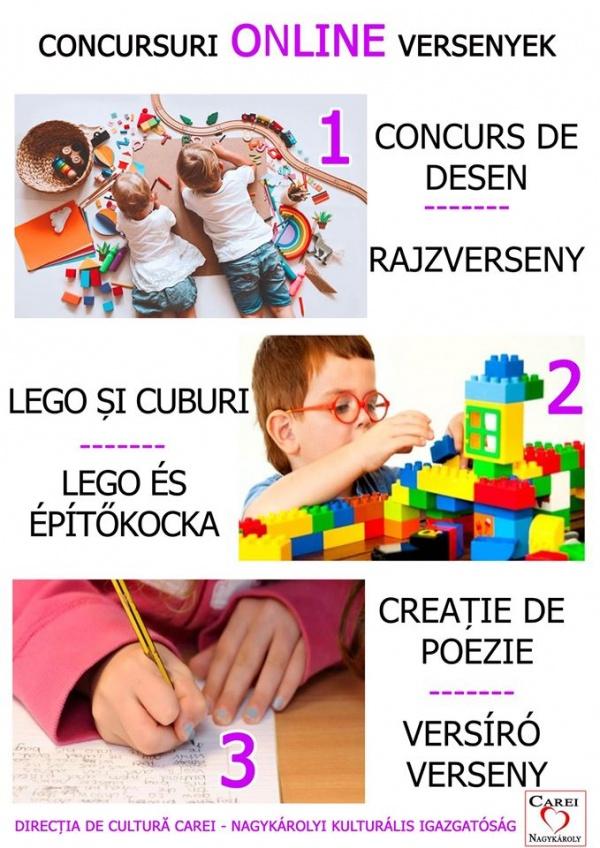 Concursuri online pentru copii