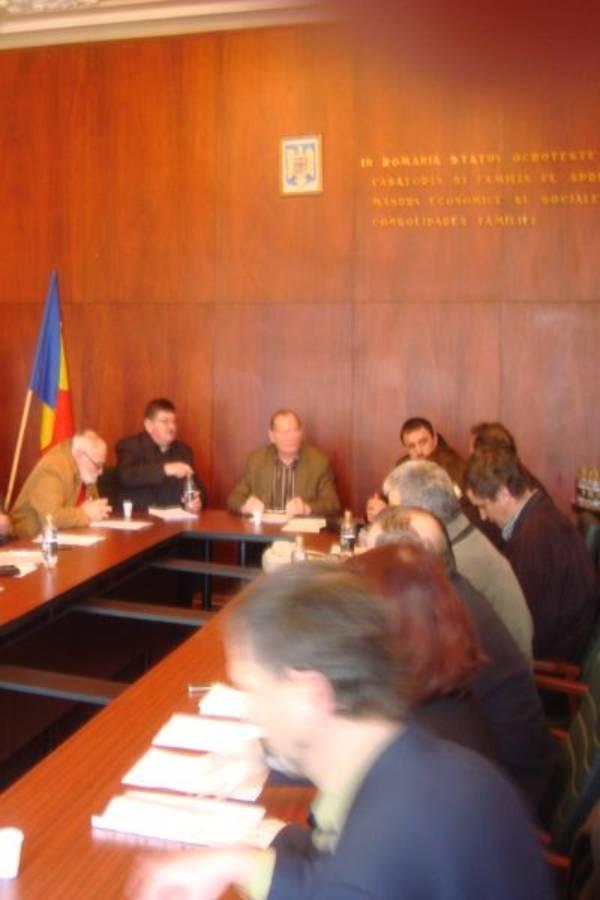 Şedinţa  Consiliului Local