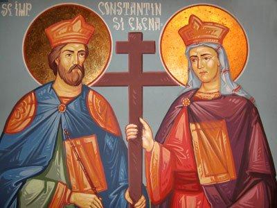 Zi de sărbătoare. Sfinții Împărați Constantin și Elena