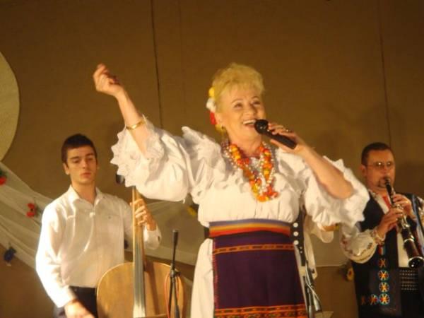 Concert Sava Negrean-Brudaşcu la Festivalul de Folclor al Naţionalităţilor de la Carei