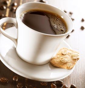 Ora ideală pentru o ceaşcă de cafea