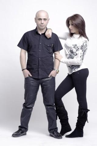DJ Sava şi Raluca la Carei