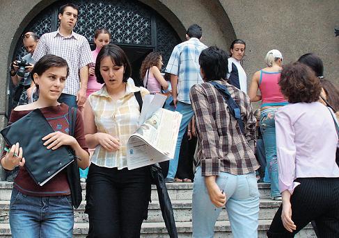 Efectuarea stagiului pentru absolvenţii de învăţământ superior
