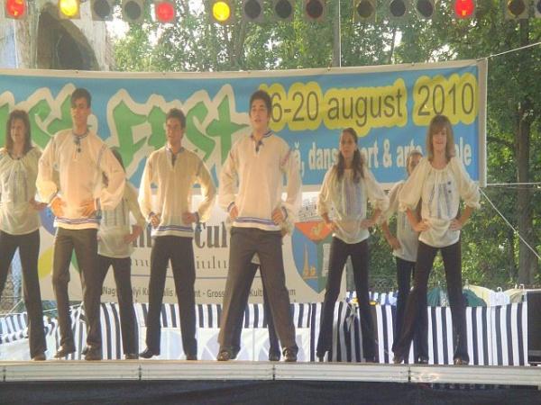 Seara dansului careiean la August Fest