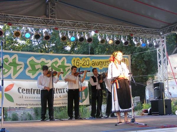 Seara folclorului careiean la August Fest