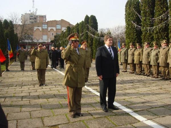 Ministrul Apărării în vizită la Carei