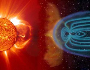 Pământul, bombardat masiv de Soare