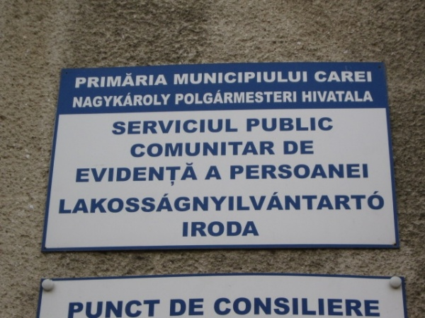 Serviciul Public de Evidenţa persoanelor Carei vă informează…