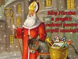 Povestea lui Moş Nicolae in tradiţii şi credinţe româneşti