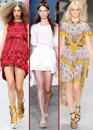 Trend 2011: rochia cu coadă