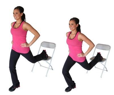 5 exerciţii care te slăbesc rapid