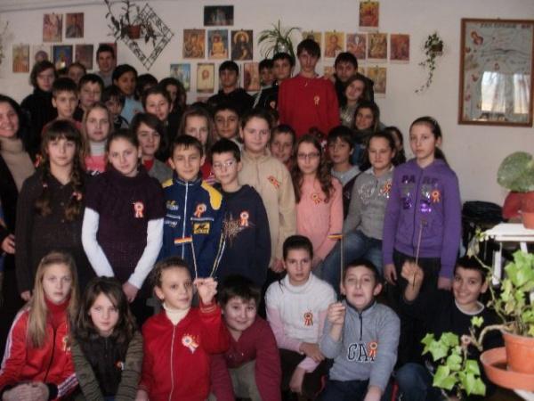 Ziua  Unirii Principatelor  Române în şcolile careiene