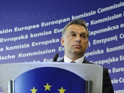 """Foşti disidenţi est-europeni cer UE să ia măsuri faţă de """"deriva autoritară"""" a premierului ungar"""