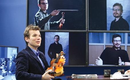 """Violonistul Alexandru Tomescu: """"Ca profesor,eşti privit ca un coate-goale"""""""