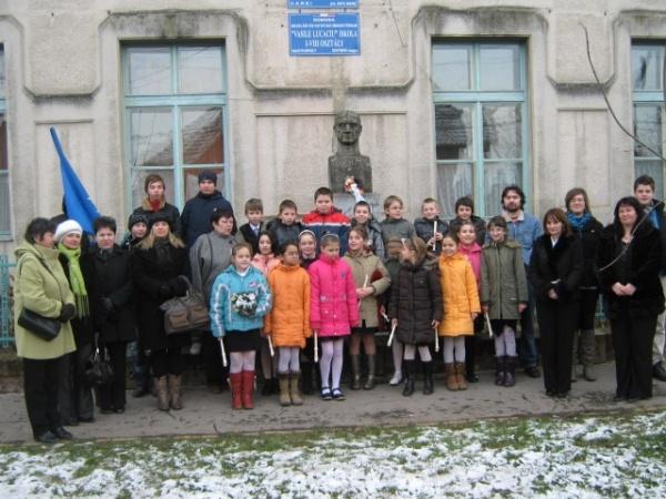 Oaspeţi din şase ţări la Şcoala Vasile Lucaciu
