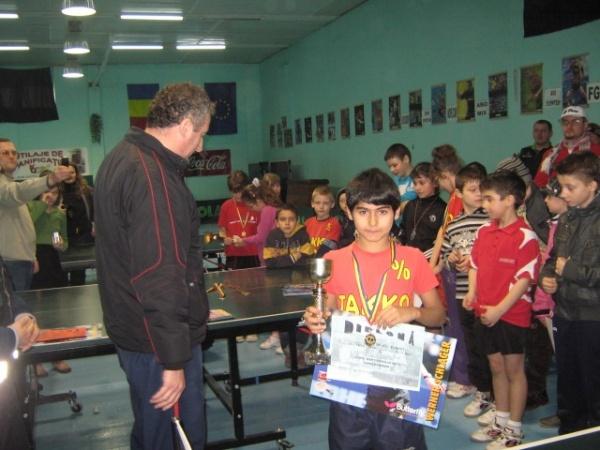 Juniorii mici la Cupa Mărţişorului organizată de Tapo Carei