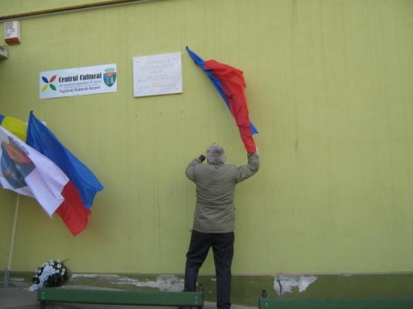 Dezvelirea plăcii memoriale Karacsonyi Peter