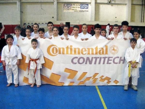 Prezenţe careiene la Campionatul Naţional de Karate Shotokan