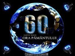 """Jandarmeria susţine """"Ora Pământului""""."""