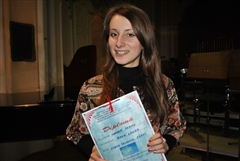 Laura Bakk aduce marele premiu de la RECITATIO la Carei