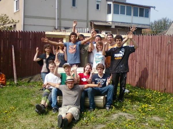 Voluntari germani susţin Casele de Tip Familial